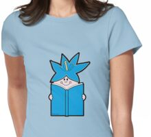 Reading Rainbow in Harmony - Blue Womens Fitted T-Shirt