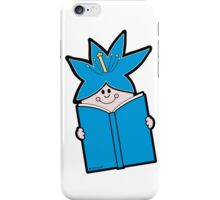Reading Rainbow in Harmony - Blue iPhone Case/Skin