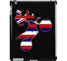Hawaii flag dirt bike iPad Case/Skin