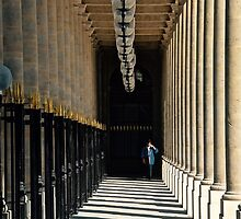 Paris - Palais Royal by Jean-Luc Rollier