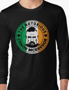 The Notorious Conor Mcgregor Long Sleeve T-Shirt