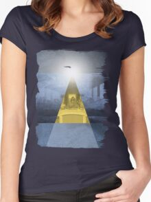 Da Vinci Last Supper revisited b Women's Fitted Scoop T-Shirt