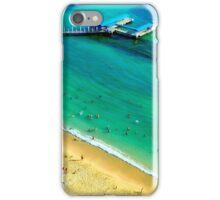 Honolulu Beach from Above iPhone Case/Skin