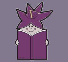 Reading Rainbow in Harmony - Purple Kids Tee