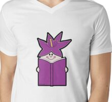 Reading Rainbow in Harmony - Purple Mens V-Neck T-Shirt