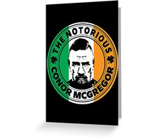 Conor Mcgregor Greeting Card