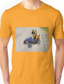 Cat In Toy Car Unisex T-Shirt