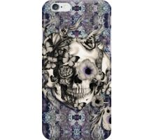 Maybe Next Time, Floral skull iPhone Case/Skin