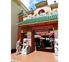 Chinatown Honolulu Photographic Print