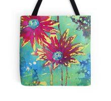 Painted Daisies Tote Bag