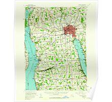 New York NY Auburn 136740 1956 62500 Poster