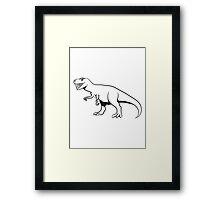 Dinosaur T-Rex Tyrannosaurus Rex cool Framed Print