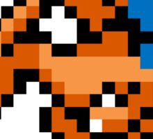 Pokemon 8-Bit Pixel Charizard 006 Sticker