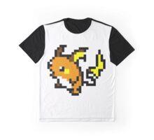 Pokemon 8-Bit Pixel Raichu 026 Graphic T-Shirt