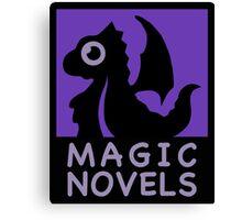Magic Novels Canvas Print