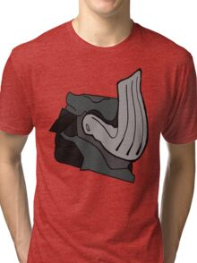 Warframe - Mordred Helm Tri-blend T-Shirt