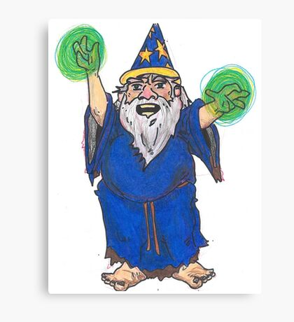 Dirty Wizard Canvas Print