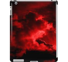 Red Sunset 4 iPad Case/Skin