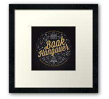 Book Hangover Framed Print