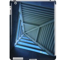 Blue Sky and Pyramid Architectural Window iPad Case/Skin
