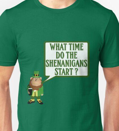 Funny Irish shenanigans Unisex T-Shirt