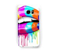 Psychedelic Lips Samsung Galaxy Case/Skin