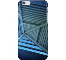 Blue Sky and Pyramid Architectural Window iPhone Case/Skin