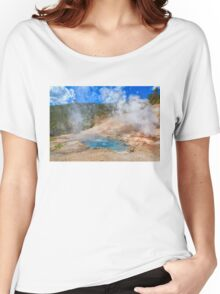 Geo Yellowstone Women's Relaxed Fit T-Shirt