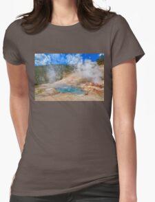 Geo Yellowstone Womens Fitted T-Shirt