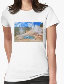 Geo Yellowstone Womens Fitted T-Shirt