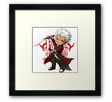 Archer from Fate Stay night Framed Print