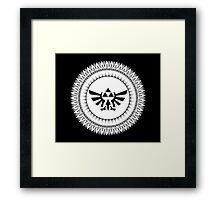 Triforce art Framed Print