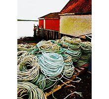 Fishing Rope Photographic Print