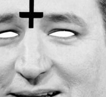 Ted Cruz 666 Merch Sticker