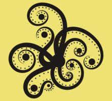 Abstract Octopus Kids Tee