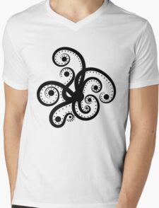 Abstract Octopus Mens V-Neck T-Shirt