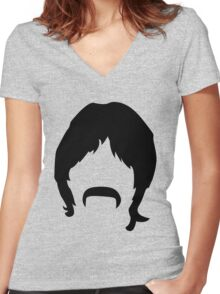 I love Boomer (Pt. 2) Women's Fitted V-Neck T-Shirt