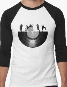 Vinyl music art Men's Baseball ¾ T-Shirt