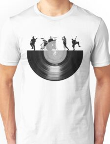 Vinyl music art Unisex T-Shirt