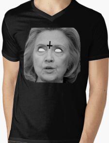 Hillary Clinton 666 Merch Mens V-Neck T-Shirt