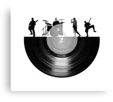 Vinyl music art Canvas Print