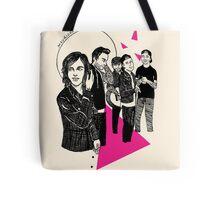 We Like It Quiet Tote Bag