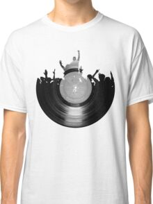 Vinyl music art 2 Classic T-Shirt