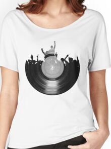 Vinyl music art 2 Women's Relaxed Fit T-Shirt