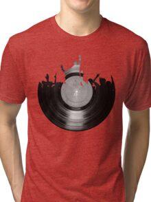 Vinyl music art 2 Tri-blend T-Shirt