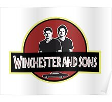 winchester and sons jurassic park spoof Poster