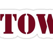 B-Town Sticker