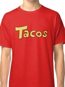 DBZ- Krillin's 'Tacos' Shirt. Classic T-Shirt