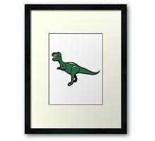 Dinosaur T Rex Tyrannosaurus Rex Framed Print