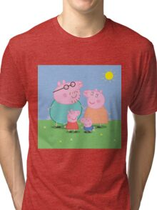 peppa pig Tri-blend T-Shirt